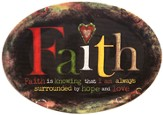 Faith Is Knowing, Mini Plate