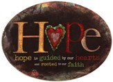 Hope Is Guided, Mini Plate