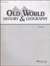 Old World History & Geography Tests