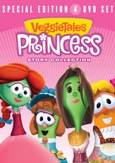 VeggieTales Princess Story DVD Collection