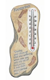 Footprints Thermometer