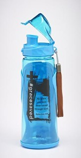 #Grace saved Water Bottle