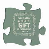 Every Good and Perfect Gift, Puzzle Plaque