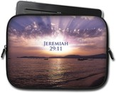 Ocean Sunrise, Jeremiah 29:11 Tablet Case, Large