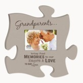 Grandparents, Bring Fond Memories, Puzzle Photo Frame