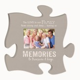 Memories, The Love In Our Family Flows Strong, Puzzle Photo Frame