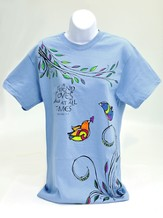 A Friend Loves at All Times Shirt, Blue, Small
