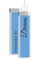 Powered By Dreams, USB Rechargeable Battery