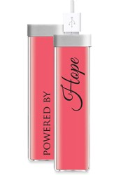 Powered By Hope, USB Rechargeable Battery