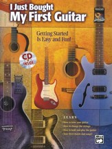 I Just Bought My First Guitar Book & Audio CD