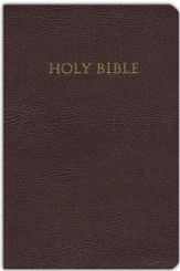 KJV Study Bible Bonded leather, burgundy