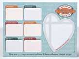 Shaping Hearts Weekly Planner