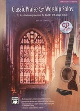 Classic Praise & Worship Solos for Fingerstyle Guitar, Book & Audio CD