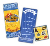 The Great Savior Roundup, Activity Bookmark with Stickers