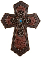 Crimson Wall Cross