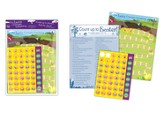 Countdown To Easter, Activity Card with Stickers