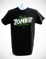 I'm A Zombie Shirt, Black, Large