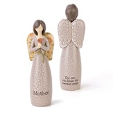 Mother, Angel Blessing Figurine
