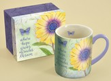 Where Hope Grows, Daisy Mug