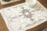 Glorious Angel Placemat, White