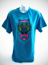 Choose Wisely Shirt, Turquoise, Large