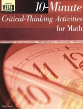 10-Minute Critical-Thinking Activities for Math Classes