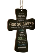 For God So Loved the World, Cross Car Charm