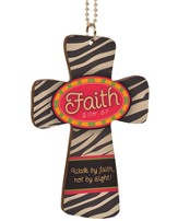 Faith, Cross Car Charm
