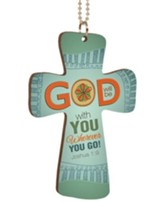 God Will Be With You, Cross Car Charm