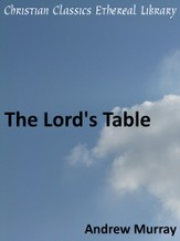 Lord's Table - eBook