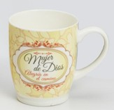 Woman Of God Mug, Spanish