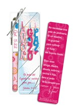 Love, Joy, Peace, Pen and Bookmark Gift Set, Spanish