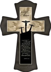 Three Crosses, God Is Love Cross, Small
