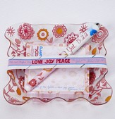Love, Joy, Peace, Notepad and Pen Gift Set
