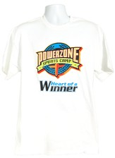 PowerZone T-Shirt, Adult Medium