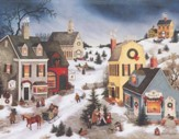 Caroling In the Village, Boxed Christmas Cards, 18