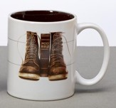 Man Of God, Walking By Faith Mug