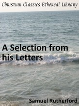 Selection from his Letters - eBook
