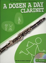 A Dozen A Day-Instrumental Editions: Pre-Practice Technical Exercises-Clarinet