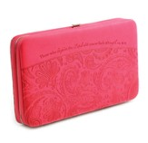 Hope In the Lord, Clutch Wallet, Pink
