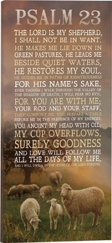 Shepherd's Psalm Wall Art