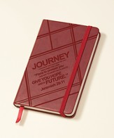 Journey Notepad, Burgundy