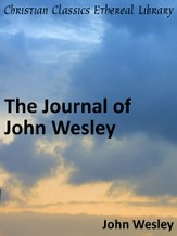 Journal of John Wesley - eBook