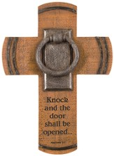 Knock, and the Door Shall Be Opened Wall Cross