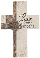 Love One Another Wall Cross