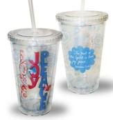 Love, Joy, Peace Tumbler
