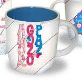 Love, Joy, Peace Mug, Spanish