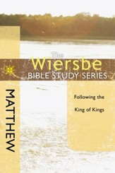 The Wiersbe Bible Study Series: Matthew - eBook