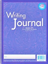 My Writing Journals, Grades 3-4