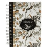 I Will Sing, Small Spiral Bound Journal